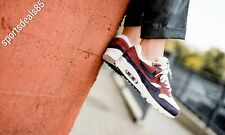Womens NIKE AIR MAX 90/1 Red Sepia Trainers AQ1273 200 UK 4 EUR 37.5 US 6.5