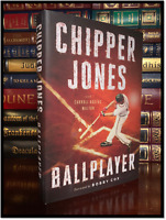 Ballplayer ✍SIGNED✍ by CHIPPER JONES New Hardback MLB Atlanta Braves 3B Gift