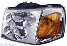 New Replacement Headlight Assembly LH / FOR 2002-09 GMC ENVOY
