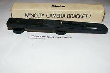 MINOLTA CAMERA BRACKET 1 ORIGINAL GENUINE MINOLTA BRAND NEW for MINOLTA FLASHES