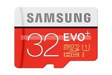 Samsung Micro SD HC 32GB 32G EVO Pls 80MB/SEC Class 10 C10 U1 UHS1 Memory Card