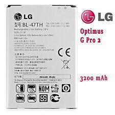 100%ORIGINAL LG BL-47TH BATTERY FOR Optimus G Pro2 F350K F350S F350L D837 3200mA