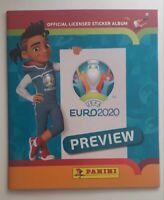 panini EURO 2020 PREVIEW album vide VERSION PORTUGAISE
