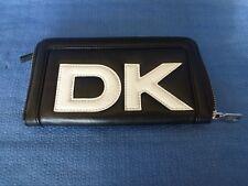 Porte-Monnaie Donna Karan New York -  Vintage - Noir et Blanc