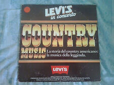 LP LEVI'S IN CONCERTO COUNTRY MUSIC -  VINTAGE