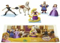 Disney Tangled Princess 5 Figures Pack Ages 3+ Doll  Toy Play Hair Gift Girls