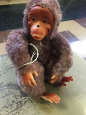 Vintage Stuffed Toy Monkey on Made in JAPAN - Ape - Chimpanzee  BOX 2