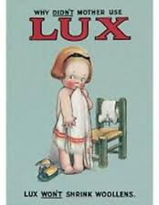 Why Didn't Mother Use Lux .Robert Opie.Collectors item.KEY RING.End of Stock!