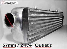 Universal FMIC intercooler tube fin design 690 mm x 140 mm x 65 mm avec 57 mm entrées