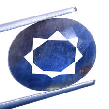 GRS Certified 14.80 Carat 100% Natural Untreated Blue Sapphire Gemstone For Ring