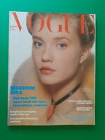 Vogue Italia Diciembre 1987 December Rebecca De Mornay Rupert Everett Revista