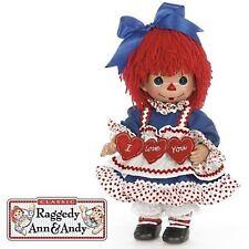 "Precious Moments 12"" Raggedy Ann I Love You + Gift box New"