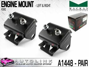 MACKAY ENGINE MOUNTS FRONT LEFT & RIGHT FOR FORD FALCON EA EB ED 6CYL 88-94 x2