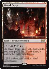 1x Blood Crypt - Foil NM-Mint, English Ravnica Allegiance MTG Magic