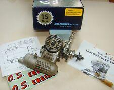 OS Max 15 R/C dos tiempos motor para avión De Radio Control (136)