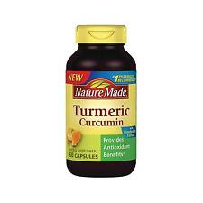 Nature Made Turmeric Curcumin 60 Capsules Provides Antioxidant Benefits