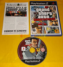 GRAND THEFT AUTO LIBERTY CITY STORIES Ps2 GTA Italiano 1ª Edizione ○ USATO - CK