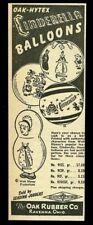 1950 Walt Disney Cinderella Palloncini Wholesaler Figurine Stampa Ad