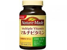 ☀ Otsuka Natura Hecho Multivitaminas 100 Tabletas de Japón F / S