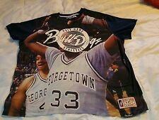 Post Game 3XL Men Shirt Graphic Tee 33 BullDogs Patrick Ewing Georgetown