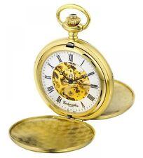 Vergoldete Taschenuhren mit Skelettuhr-Funktion