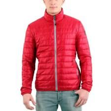 Cappotti e giacche da uomo rossi marca Napapijri cerniera