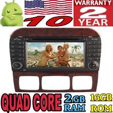 ANDROID 10 MERCEDES S W220 S280 S320 S350 S400 S430 S500 CAR GPS DVD RADIO WIFI