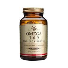 Solgar Omega 3-6-9 # 2028 (120 Capsules)