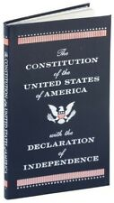 The Constitution of the United States & Declaration of Independence NEW Leather