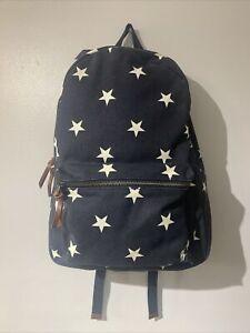 Polo Ralph Lauren Navy Blue & White Star Spangled Backpack Bag *BNWT*