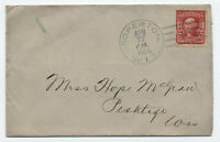 1906 Soperton WI doane cancel EKU cover #319 [4563]