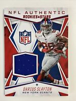 2020 Panini Rookies & Stars Darius Slayton Jersey Patch -NA-DS - New York Giants