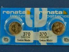 Renata 370 SR920W Batterien Knopfzelle, 2Pcs