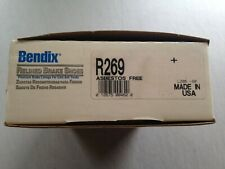USA NOS Bendix R269 Relined Shoe Set fits 269