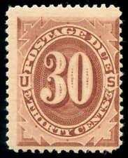 momen: Us Stamps #J20 Mint Og Nh F/Vf Weiss Cert