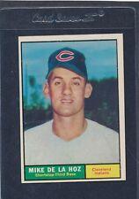 1961 Topps #191 Mike De La Hoz Indians EX 61T191-22216-1