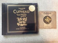 "CUPHEAD Video Game Soundtrack Vinyl 4LP Box Set OST & Rare Promo 7"" Mugman XBOX"