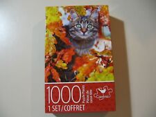 1000 piece Puzzle, Cat in Autumn Tree (Brand New and Sealed