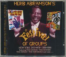 Herb Abrahamson's Festival Of Groups - rare Sequel New York Doo-Wop CD 1958-1966