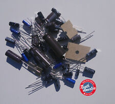 Electrolytic Radial capacitor kit for Realistic TRC-465 / Uniden PC-122XL
