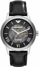 Emporio Armani Meccanico Automatic Skeletal Dial Watch AR4669 NEW