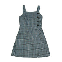 Ally 90's Clueless Style Dress Women's Size 8 Check Plaid
