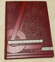 1947 Plainfield High School Yearbook, Plainfield NJ (USED)