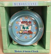 Memory Lane Retro Alarm Clock