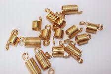 15PC  Hair Coil Dreadlocks Braiding Beads (Spring Braid)