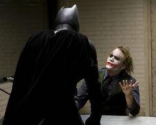 Heath Ledger Joker Batman Dark Knight movie actor picture 8x10 photo 02
