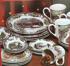 Johnson Brothers 28 Piece Set Friendly Village Dishes