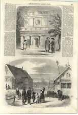 1861 Mission Russe église de Pékin, paysan village goumnist, Kostroma, Yaroslav