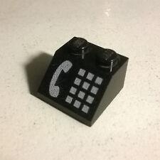 LEGO 3039p12 Slope Brick 45 2 x 2 White Phone 4554 6422 6549 6522 4031 2150