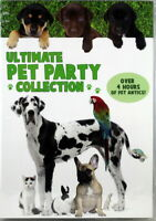 Animal Atlas Ultimate Pet Party Collection NEW SET Of 4 DVDs Kitten Puppy Farm